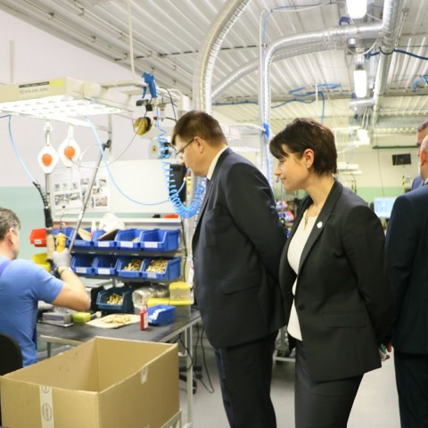 Technological visit to AC S.A. with participation of Lithuanian partners, part. II